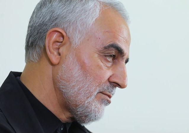 El general Qasem Soleimani, comandante de la Fuerza Quds iraní
