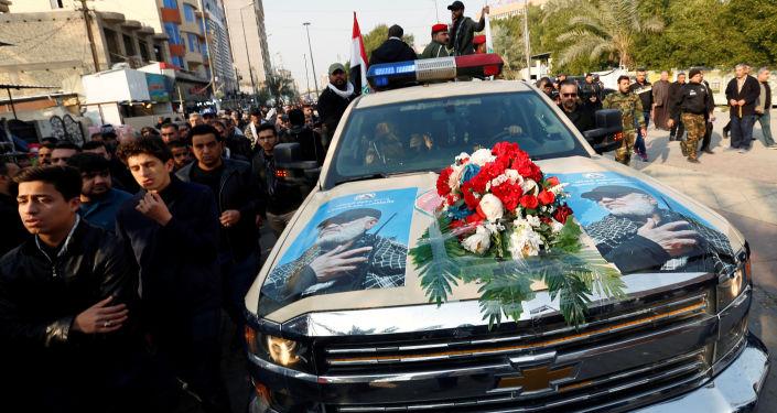 El funeral del general iraní Qasem Soleimani