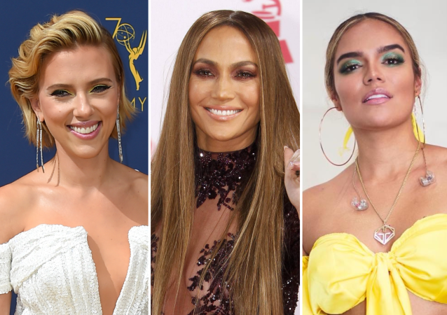 Scarlett Johansson, Jennifer Lopez y Karol G