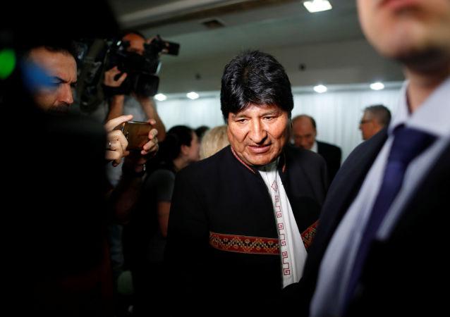 Evo Morales, el expresidente de Bolivia