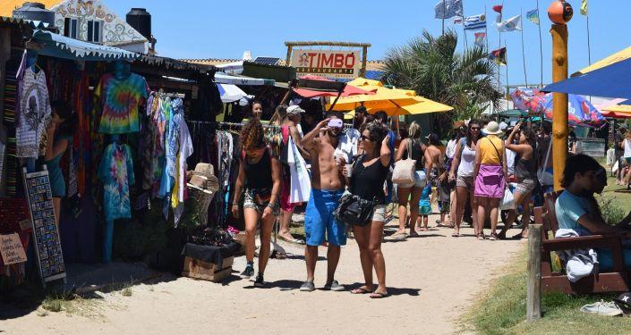 Tiendas y artesanías en Cabo Polonio