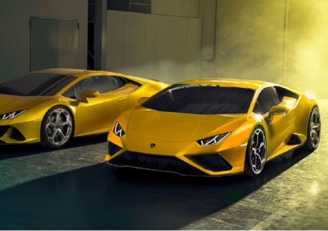Dos Huracán EVO RWD de Lamborghini