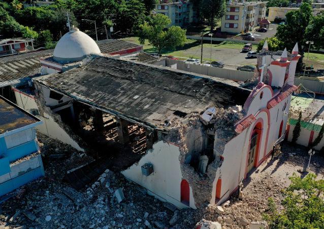 El rastro de destrucción dejado por los terremotos en Puerto Rico