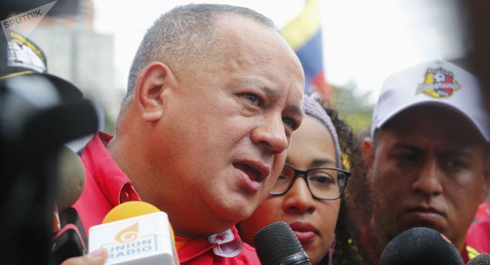 Diosdado Cabello, presidente de la Asamblea Nacional Constituyente de Venezuela (archivo)