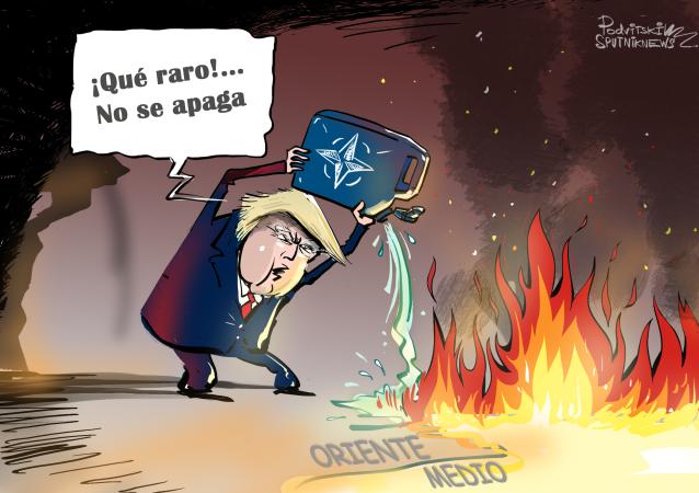 Más leña al fuego: Trump busca ampliar la presencia de la OTAN en Oriente Medio