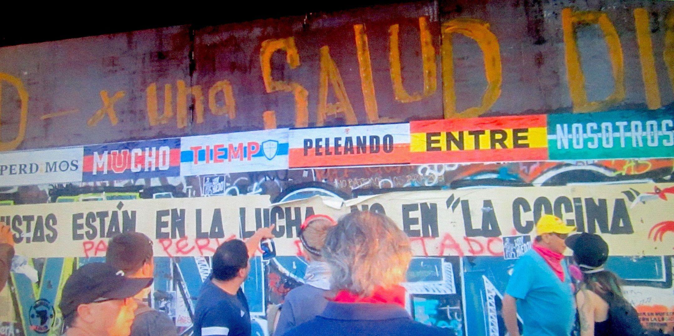 Perdimos mucho tiempo peleando entre nosotros, cartel celebra la unión de las barras contra el Gobierno chileno