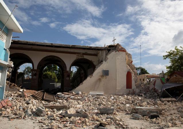 Las consecuencias del terremoto en Guayanilla, Puerto Rico