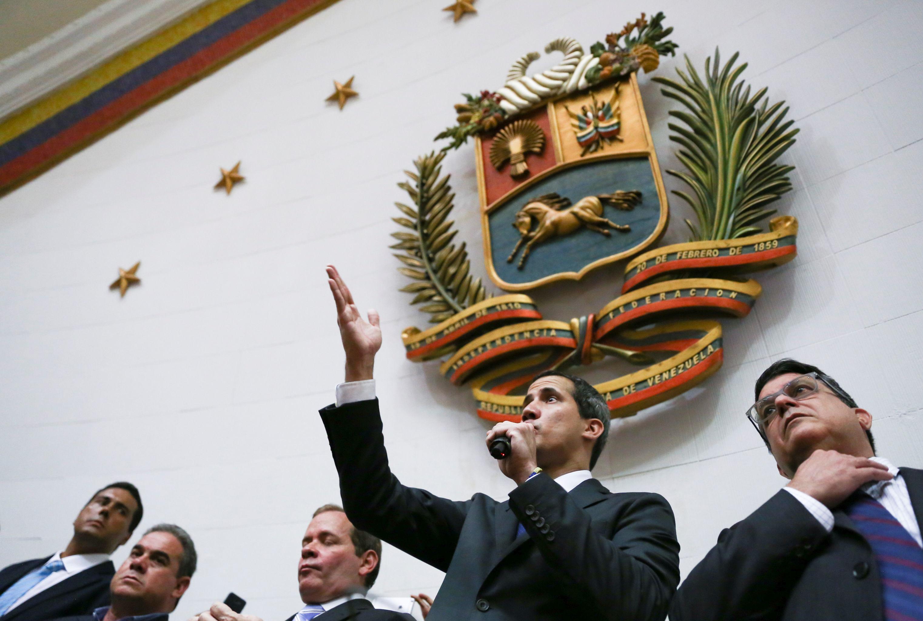 Juan Guaidó, el diputado opositor venezolano