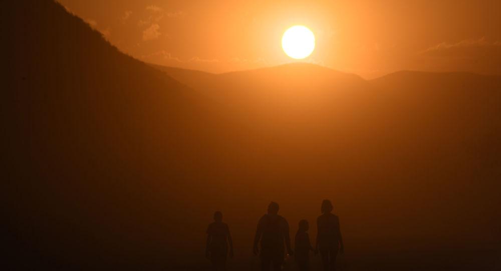 Un amanecer (imagen referencial)