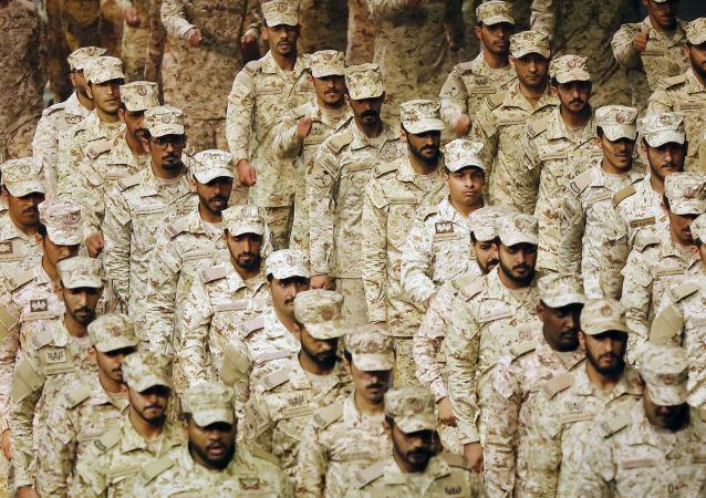 Los soldados saudíes