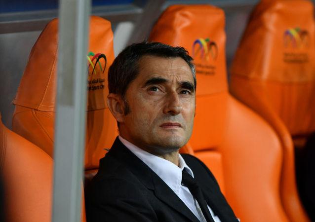 Ernesto Valverde, el técnico del Barcelona
