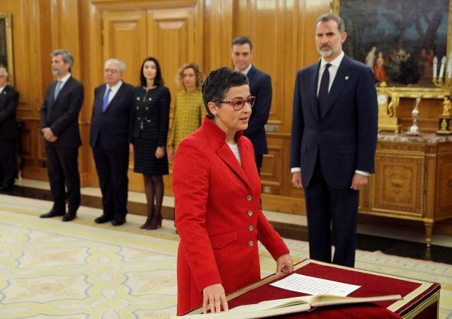 Arancha González Laya, nueva titular del  de Asuntos Exteriores de España