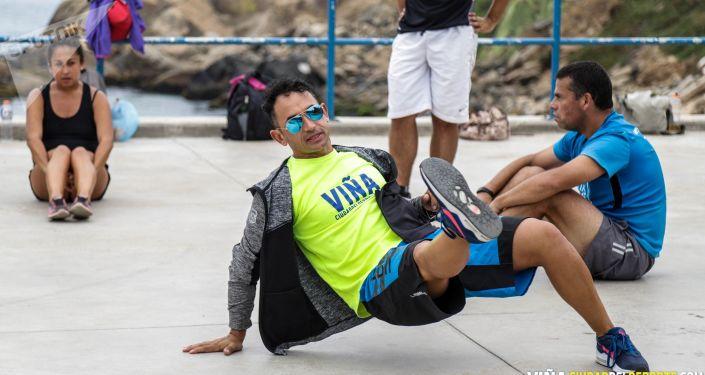 Ejercicios en Playa del deporte