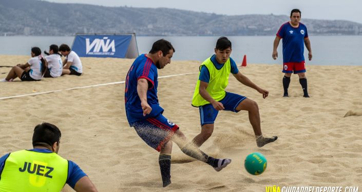 Beach soccer en Viña del Mar