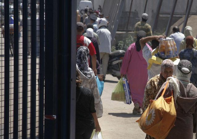 Contrabando en Melilla