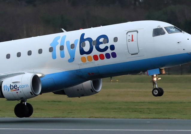 Un avión de la aerolínea Flybe