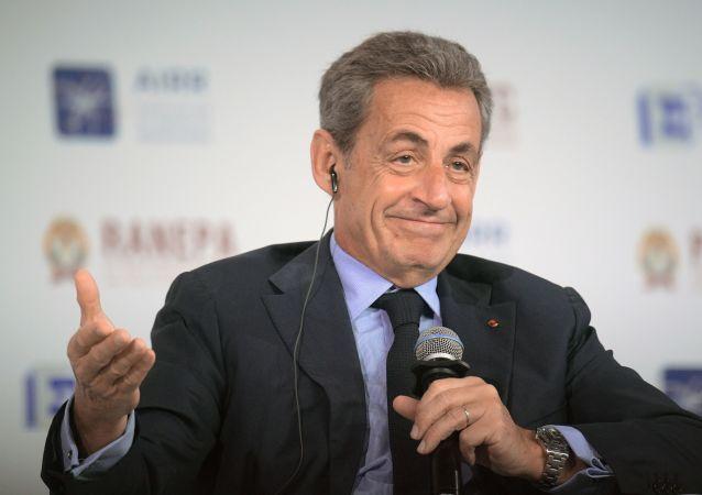 Nicolas Sarkozy, expresidente de Francia, en el Foro Gaidar