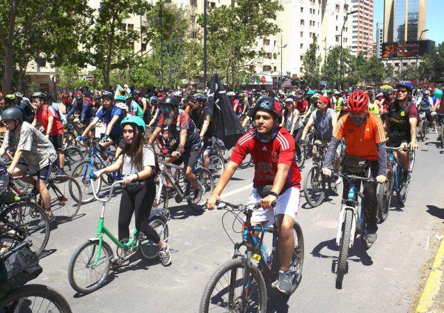 La revolución ciclista en Chile
