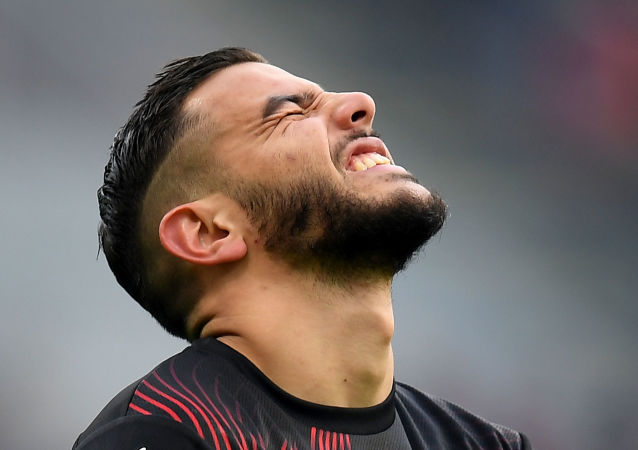 El futbolista Theo Hernández