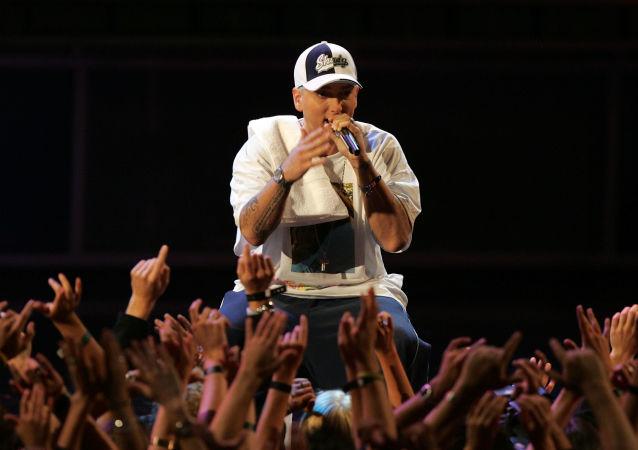 El rapero estadounidense Eminem