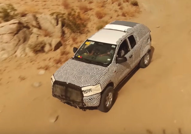Un prototipo del nuevo Ford Bronco