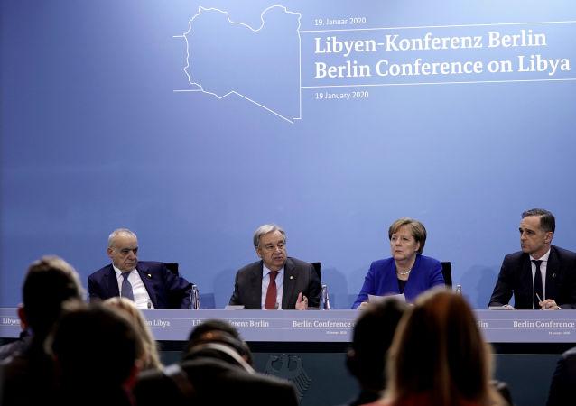 La conferencia internacional sobre Libia