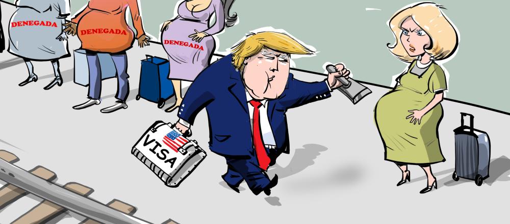 Trump rompe un récord 'embarazoso'