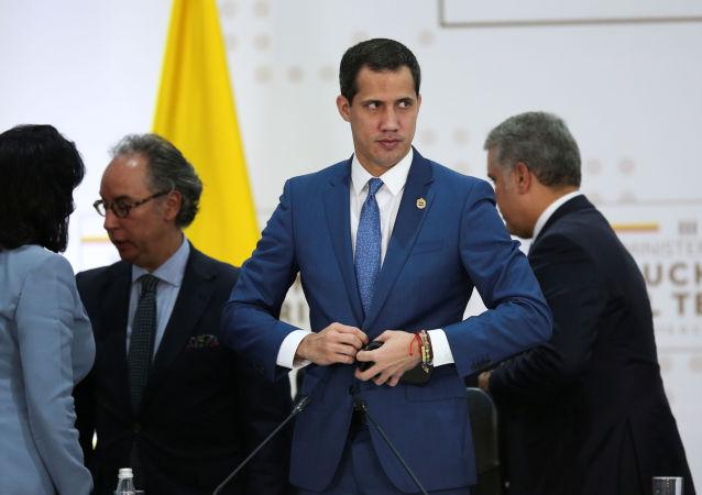 Juan Guaidó, opositor venezolano