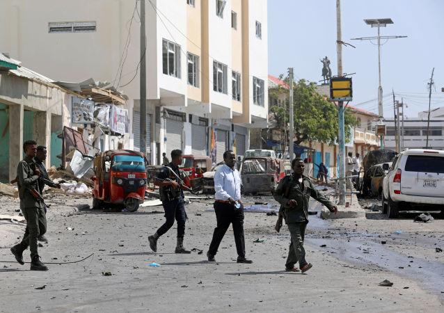 La policía somalí en Mogadiscio (archivo)