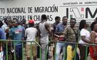 Migrantes en Tapachula, México