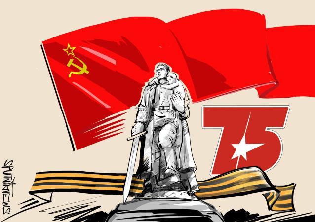 El soldado soviético, defensor y libertador