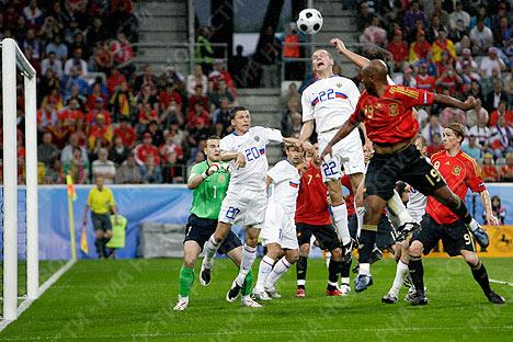 Eurocopa 2008. Rusia – España 1:4