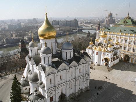 Catedral de San Miguel Arcángel del Kremlin de Moscú