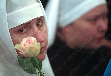 El último adiós al Patriarca de Moscú y de Toda Rusia