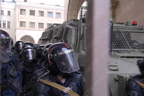 Protestas masivas en Georgia