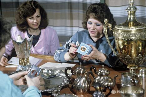 Oro, diamantes y otros tesoros de la Reserva Estatal de Rusia