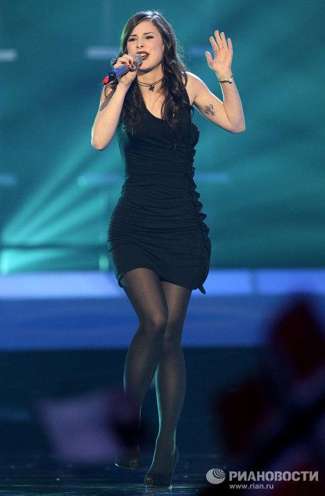 La colegiala alemana Lena, ganadora del Festival de Eurovisión 2010