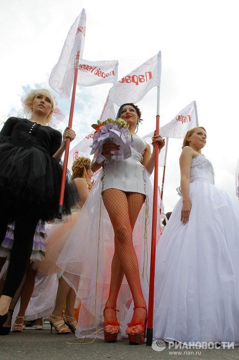 Desfile de Novias en Moscú