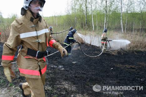 Calor sofocante provoca incendios de turberas en las afueras de Moscú