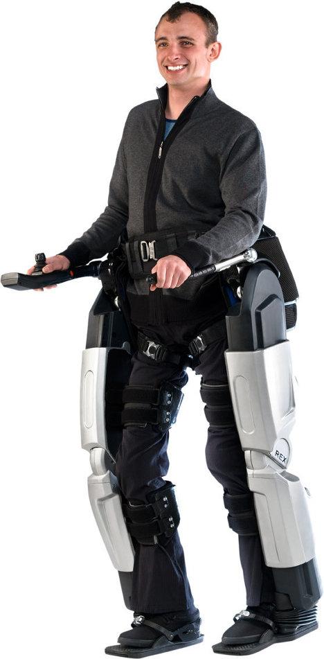 Piernas biónicas para los que no pueden andar
