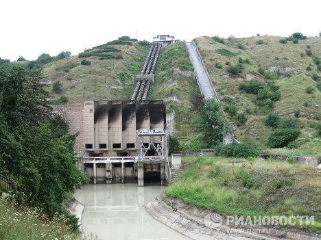 Atentado contra la hidroeléctrica Baksán en el Cáucaso de Rusia