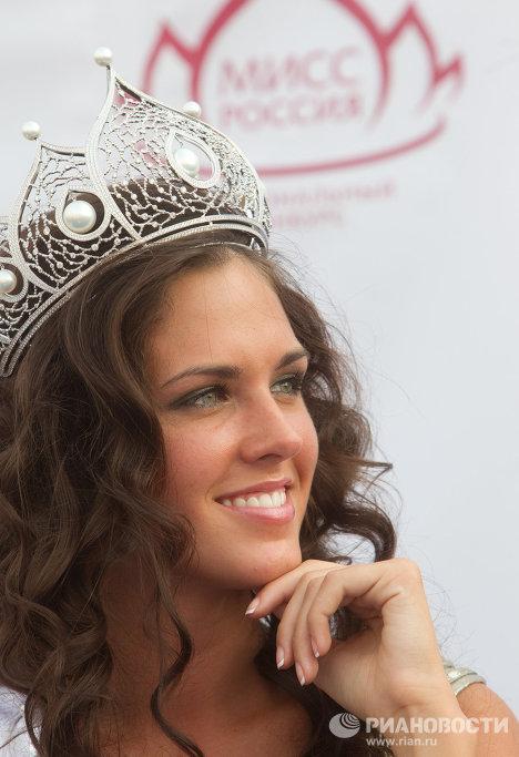 Muchacha que representará a Rusia en el concurso Miss Universo 2010