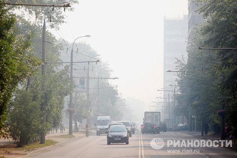 Moscú amanece envuelta en humo de incendios forestales