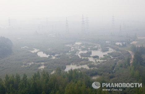 Rusia lucha contra incendios de bosques y turberas en el país