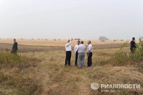 Presidente ruso visita regiones en emergencia por incendios forestales