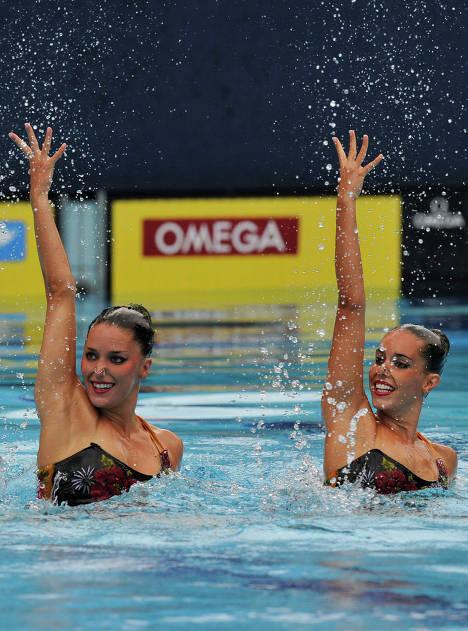 Natación sincronizada. Sirenas rusas y sus rivales