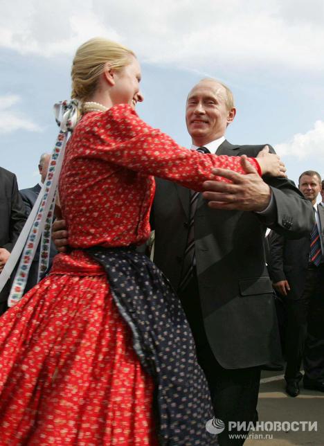 Поездка президента России Владимира Путина в Саранск