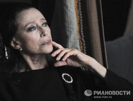 Встреча с Майей Плисецкой в ГЦТМ имени А.А. Бахрушина