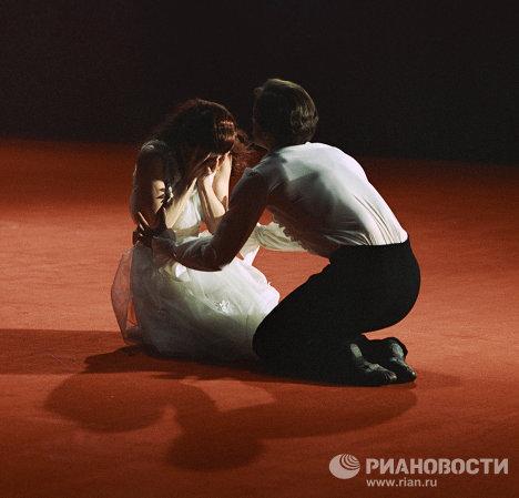 Плисецкая и Годунов в балете «Анна Каренина»