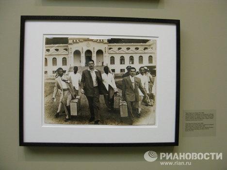 Выставка Куба в Революции в Центре современной культуры Гараж